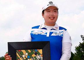 Shanshan Feng consigue su primera victoria del año en la LPGA