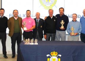 Pedro Oriol y Javier Colomo salen triunfantes de la final de Golf Santander