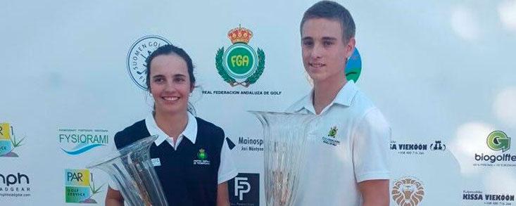 Lukas Pany y Ana García Picchi ganan el Finnish Golf Open
