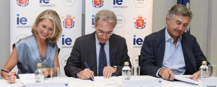 Acuerdo para el estudio del impacto económico de la industria del golf