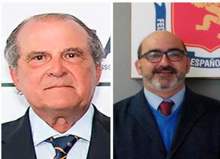 Pablo Fisas y Luis Méndez la frente del Comité