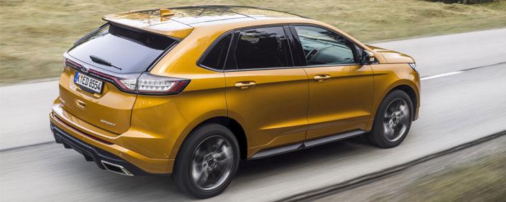 Ford Edge, el SUV americano de gama alta llega a Europa