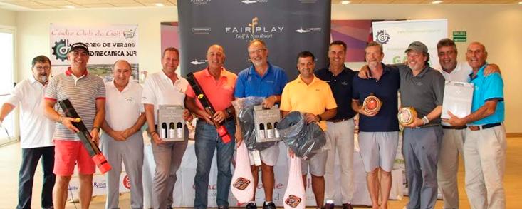 Cádiz Club de Golf celebra su Torneo de Verano