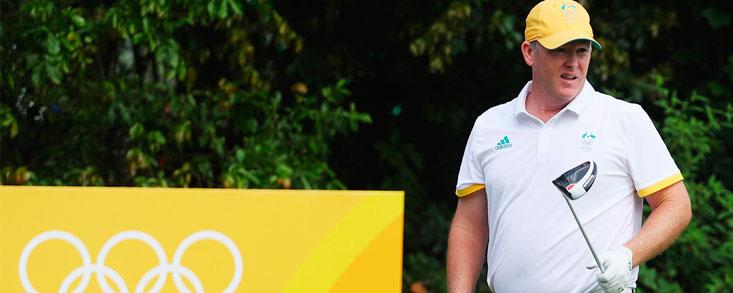 Marcus Fraser no se baja de la nube olímpica