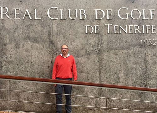 Fernando Roca, primer líder en el RCG Tenerife