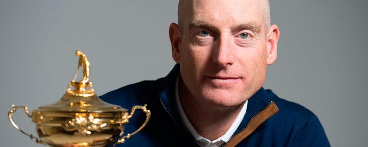 Jim Furyk, capitán de Estados Unidos para la Ryder 2018
