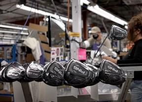 Las fábricas de PING en Europa y Estados Unidos trabajan a destajo para servir pedidos