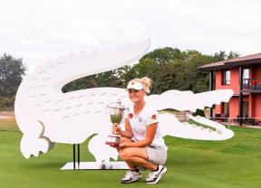 Julia Engstrom gana el Lacoste Ladies Open de France con un golpe de ventaja
