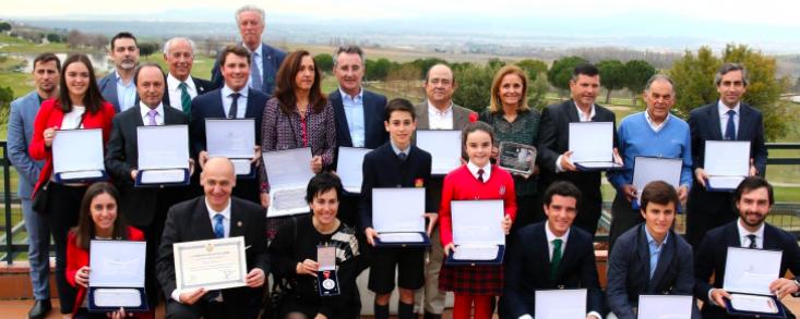 La Federación de Golf de Madrid homenajea a sus campeones