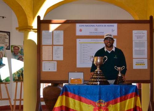 Mario Galiano logra su quinto título