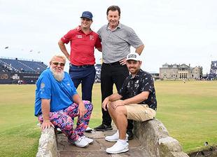 Un gran día de golf con los mejores de la temporada