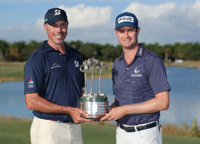 Harry English y Matt Kuchar ganan el QBE Shootout por tercera vez