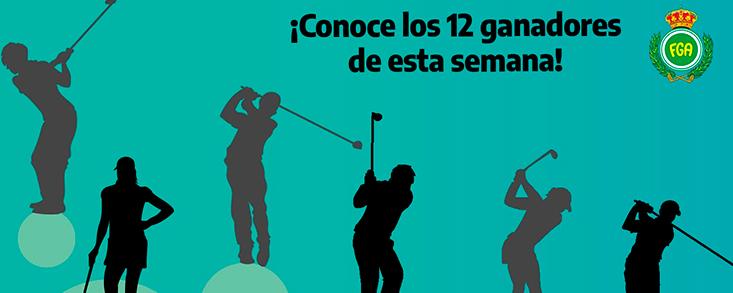 'Andalucía te invita a jugar al golf' ya tiene sus primeros ganadores