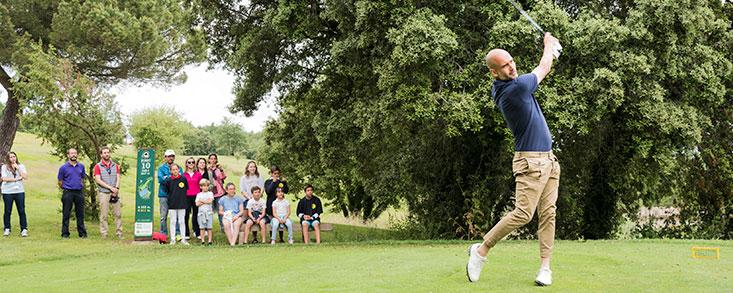 El Dream Team recuerda a Johan Cruyff en un torneo de golf