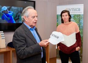 """Carlota Ciganda: """"Me siento muy orgullosa de llevar Garnica en mi gorra"""