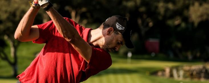 Pau Gasol cambia el basquet por el golf