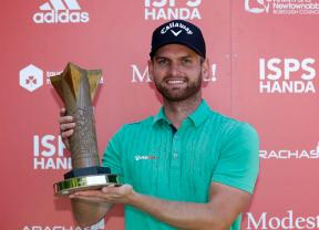 Daniel Gavins da la sorpresa y gana el ISPS HANDA World Invitational dejando a Cañizares tercero