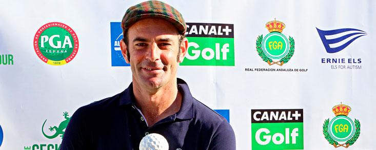 Alfonso Gutiérrez, vencedor en el Parador de Málaga y Guadalhorce