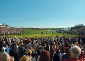 Nuevo récord, ¡¡201.033 espectadores en una ronda de golf!!