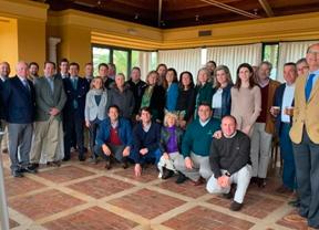 Los gerentes de los campos de Sevilla, Huelva y Cádiz Atlántica juntos en el RCGS