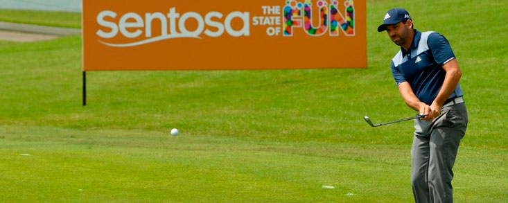 Sergio mejora en Singapur con 68 golpes