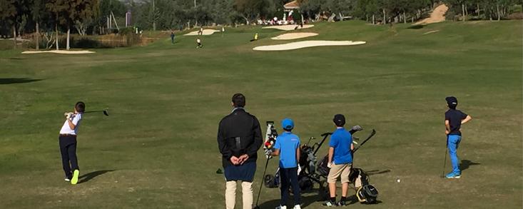 El Programa Golf Joven 2019 arranca en Andalucía