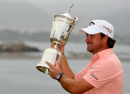 Graeme McDowell, el último ganador del U.S. Open en Pebble Beach