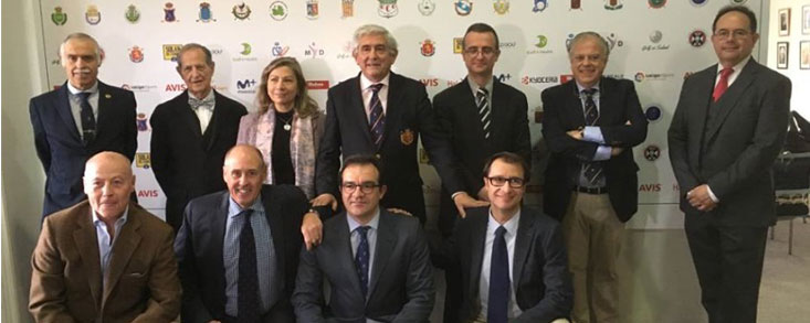 Presentación del programa 'Golf es Salud' de la RFEG