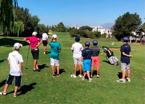 El Programa Golf Joven ya prepara el verano