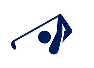 El golf ya tiene pictograma para Tokio 2020