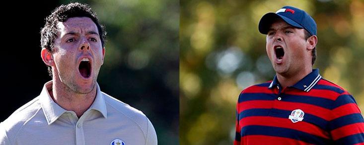 Patrick Reed y Rory McIlroy para empezar la jornada final