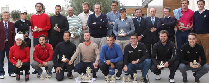 El Circuito de Madrid de Profesionales a 36 hoyos de su desenlace