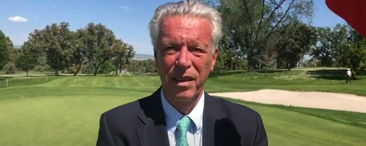 'Quiero seguir trabajando cuatro años más por el golf madrileño'
