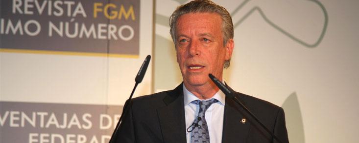 Ignacio Guerras: 'Voy a seguir siendo el presidente de todos los federados madrileños'