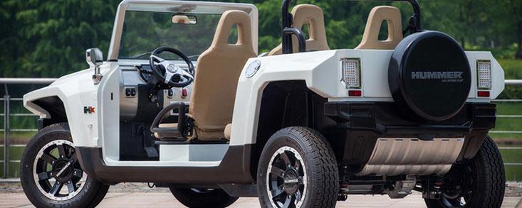 HX-T Limo, el Hummer eléctrico para resorts y campos de golf