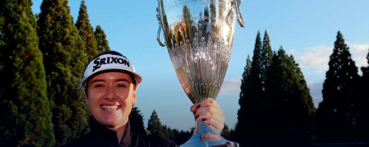 Hannah Green logra su segunda victoria del año en la LPGA