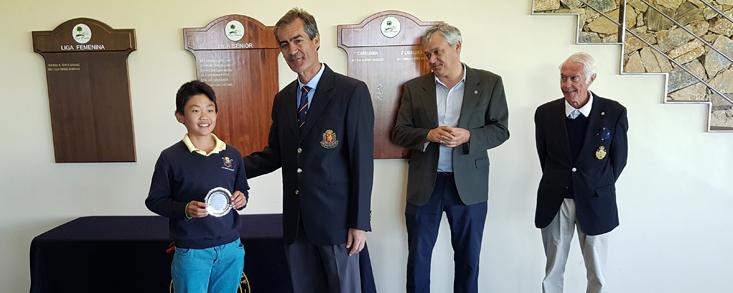 Hao Jorge Siyuan gana en Golf Las Pinaillas
