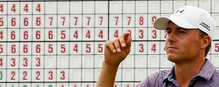 Jordan Spieth, líder del golf mundial en el día de su cumpleaños