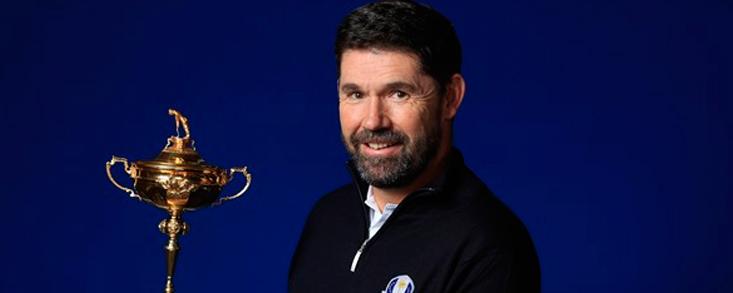 Padraig Harrington, capitán europeo para la Ryder 2020