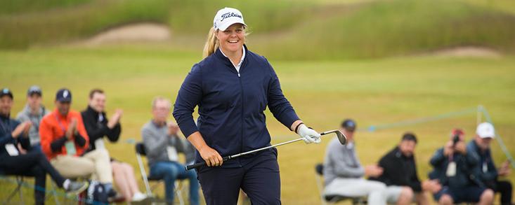 Hedwall afianza el dominio de las jugadoras LET en el Scandinavian Mixed