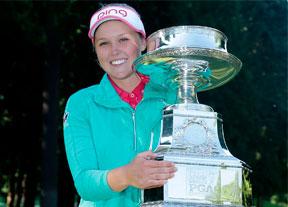 Brooke M. Henderson se consagra ante la número uno del mundo