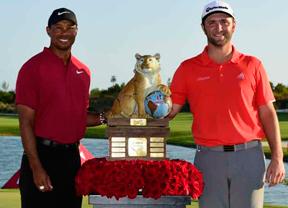 Jon Rahm busca su tres de tres con Tiger Woods como testigo
