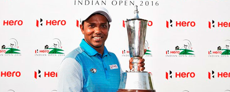 S.S.P. Chawrasia suma en casa su tercera victoria en el European Tour