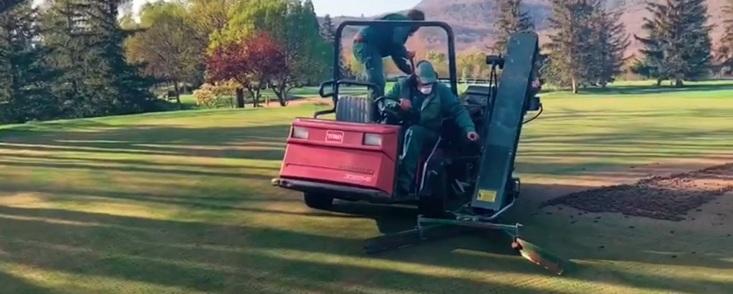Un mensaje de ilusión desde el Real Club de Golf de la Herrería