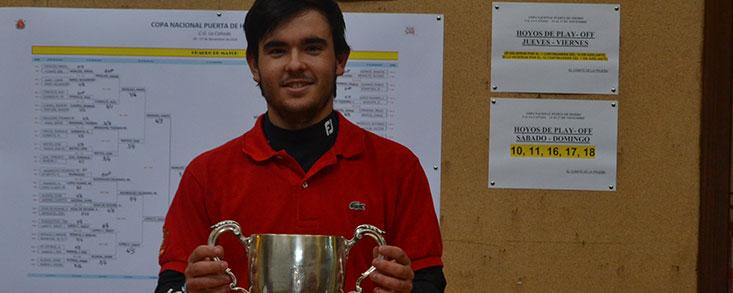 Ángel Hidalgo, campeón en La Cañada