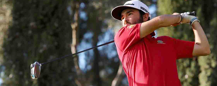 Ángel Hidalgo toma posiciones en el Ein Bay Open