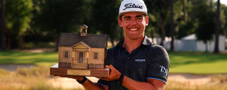 Higgo da un salto de calidad y consigue su primera victoria en el PGA con -11 y un golpe de ventaja sobre seis jugadores