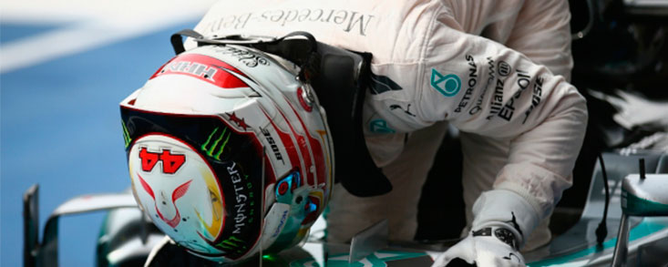 Lewis Hamilton, directo al Mundial