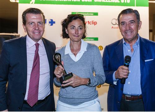 Hilaria Sánchez Hurtado ganó en La Herrería