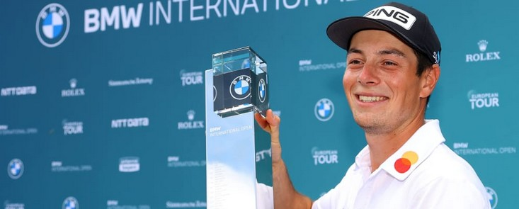 Primera victoria de Viktor Hovland en suelo europeo con Campillo tercero